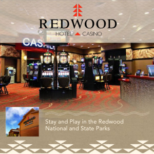 20016 - Banner Ad for Redwood Casino Hotel